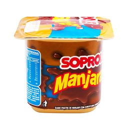 2 x Manjarate Postre Soprole Manjar Chocolate