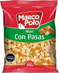 Mani Con Pasas Marco Polo 180g