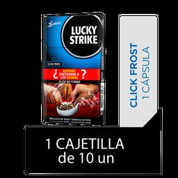 Lucky Strike Click & Roll Frost Cigarrillos Cajetilla 10Un