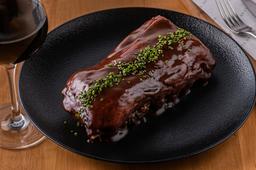 Rack de costillar de Cerdo BBQ