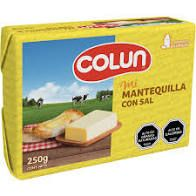 Mantequilla C/Sal Colun 250 G