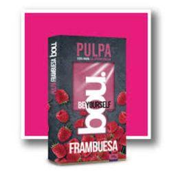 Frambuesa Congelada Pulpa Bou