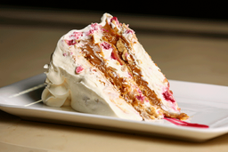 Trozo Torta Amor