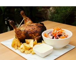 COMBO 1/2 Pollo a las brasas y 2 Bebidas