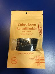Cubre Boca Clean Cuivre