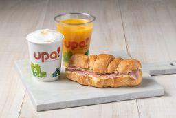 Combo Croissant Jamón - Mozzarella