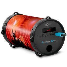 Parlante Zukabass Microlab 7282 Bluetooth 20W Naranjo