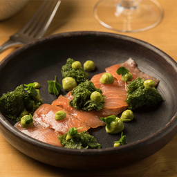 Ensalada con salmón