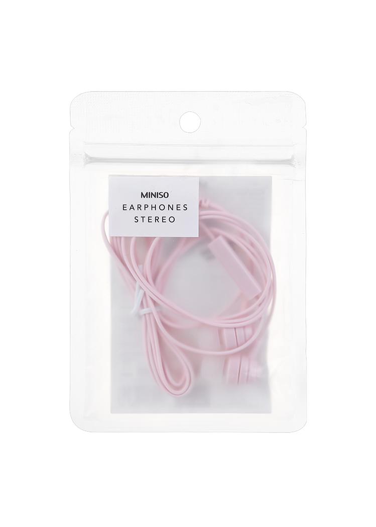 Audifonos De Cable H050 Rosa