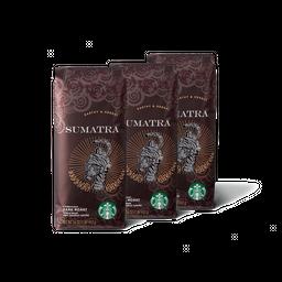 3x Sumatra 250 g