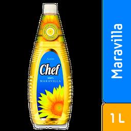 Aceite de Maravilla.Chef.1L.Libre de colesterol
