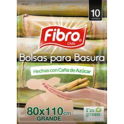 Fibro Bolsa Basura 80 X 110 Ecologico