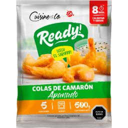Cuisine & Co Camarones Cocidos Apanados Con Cola