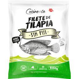 Tilapia filete sin piel 500 g