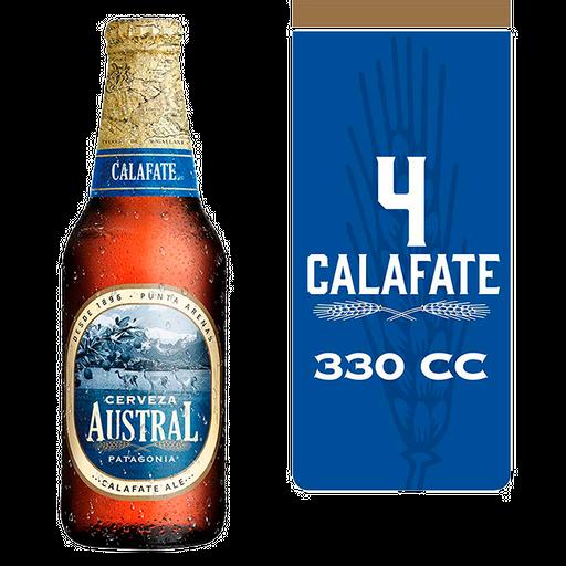 Austral Cerveza Calafate Botella 330 cc 4 Und