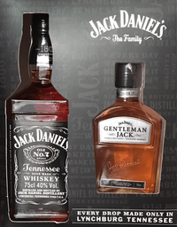 Pack Jack Daniels + Pet Gentleman