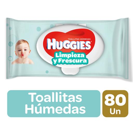 Huggies Toalla Humeda One&Done 80Un