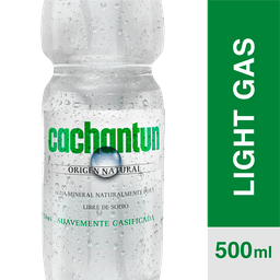 Cachantun Agua Mineral Light Gas