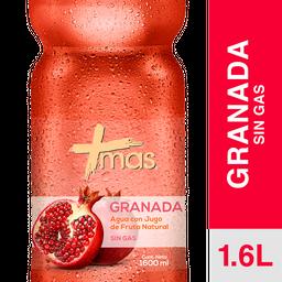 Más Agua Saborizada Mas Granada
