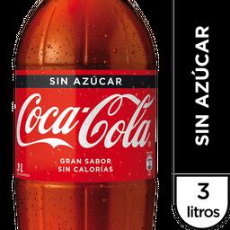 Coca-Cola Sin Azúcar Bebida Botella