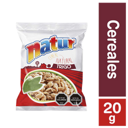 3 x Natur Cereal Trigo Inflado Miel Bolsa Individual
