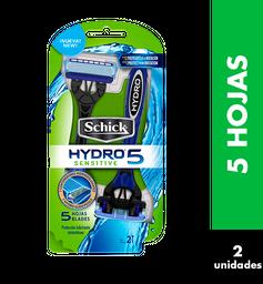 Schick Hojas Y Maquinas De Afeitar Schic Hydro 5 Sens Maq X2