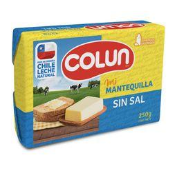 Colun Mantequilla Sin Sal