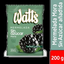Watts Mermelada Sin Azucar Mora
