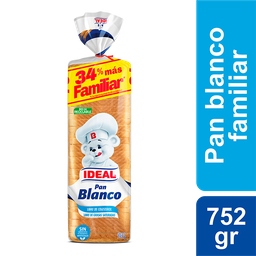 Bimbo-Ideal Pan Molde Blanco Sandwich