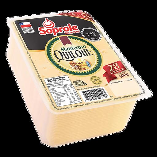 Soprole queso mantecoso quilque