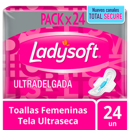 Ladysoft Toallas Higienicas Ultd.Seca.C/Ax32