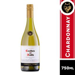 Casillero Del Diablo Vino Blanco Chardonnay 2017