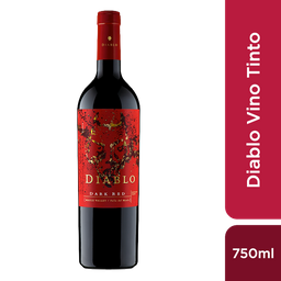 Casillero Del Diablo Vino Dark Red 12 5