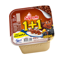 Soprole Yogurt Batido 1+1 Con Chococrispis