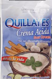 Quillayes Crema Acida