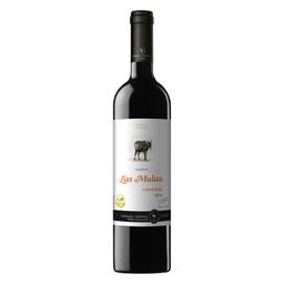 Las Mulas Vino Organica Carmenere