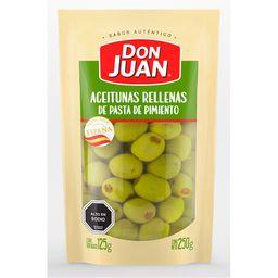 Don Juan Aceituna Verde Rellena Pimiento