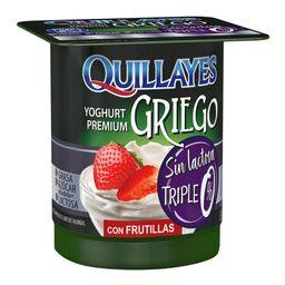 Quillayes Yoghurt Premium Con Frutilla