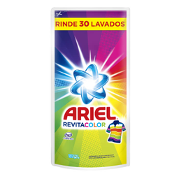 Detergente Líquido Ariel Concentrado Ariel Revitacolor, 1.2 Litr
