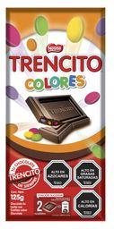 2 x Chocolate Trencito Entrete Colores 125g