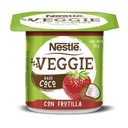 3 x Alimento de Coco Veggie Frutilla Nestle 115g