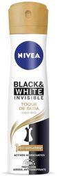 2 x Desodorante Spray Nivea Black & White Toque De Seda 150ml