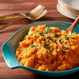 Puré de Camote y Zanahoria