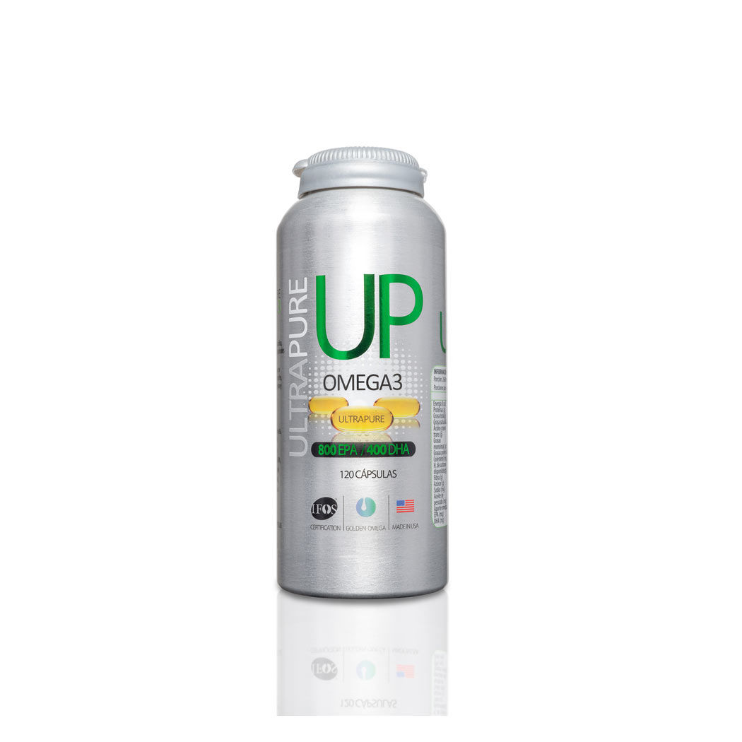 Up Omega3 Vitaminas Y Minerales Up Omega 3 Cap.120