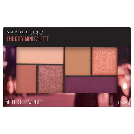 Maybelline Sombra Ojos The City Mini Palette 510 Blushed Avenue