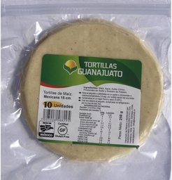 Tortilla Maiz Blanca