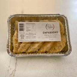 Empanaditas chorizo de campo y mozzarella