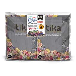 Tika Chips Pack Chiloé 5 x 212g. TIKA POR CHILOË