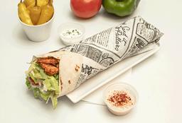Lunch Shawarma Falafel-Pollo