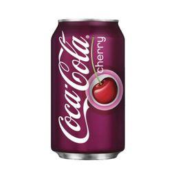 Coca Cola Zero Cherry Lata